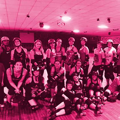 Women's Beginner Roller Derby