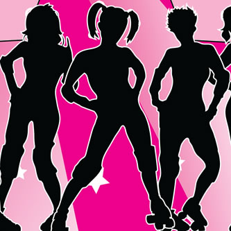 Jr Roller Derby Girls Sports and Fitness