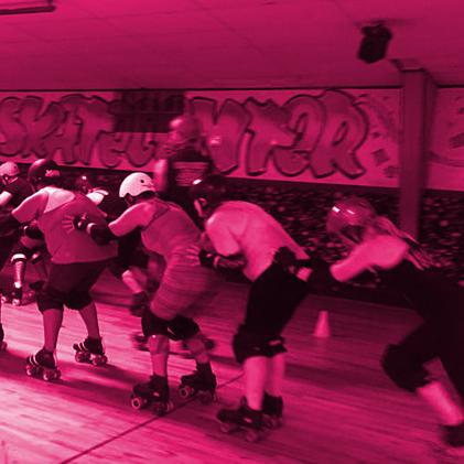 Womein's Intermedate Roller Derby